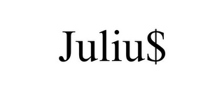 mark for JULIU$, trademark #85848474