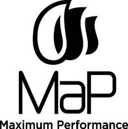 mark for MAP MAXIMUM PERFORMANCE, trademark #85849085