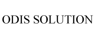 mark for ODIS SOLUTION, trademark #85849133