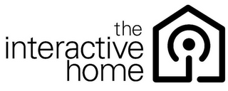 mark for THE INTERACTIVE HOME I, trademark #85849293