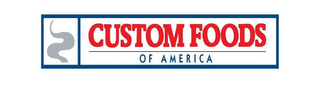 mark for CUSTOM FOODS OF AMERICA, trademark #85849326