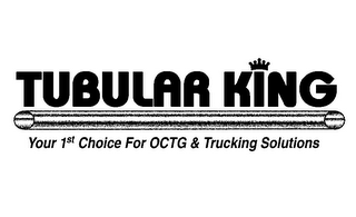 mark for TUBULAR KING YOUR 1ST CHOICE FOR OCTG &TRUCKING SOLUTIONS, trademark #85849336