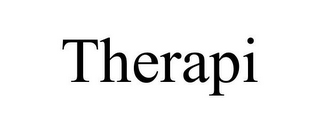 mark for THERAPI, trademark #85849576