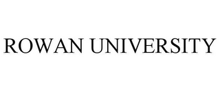 mark for ROWAN UNIVERSITY, trademark #85849679