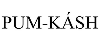 mark for PUM-KÁSH, trademark #85849757