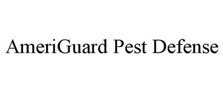mark for AMERIGUARD PEST DEFENSE, trademark #85849864