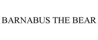 mark for BARNABUS THE BEAR, trademark #85850017