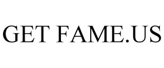 mark for GET FAME.US, trademark #85850199