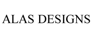 mark for ALAS DESIGNS, trademark #85850227