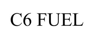 mark for C6 FUEL, trademark #85850261