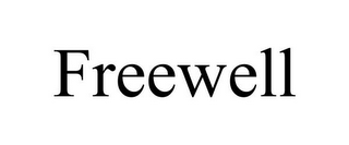 mark for FREEWELL, trademark #85850330