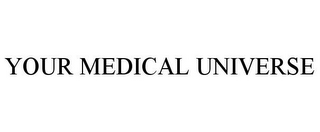 mark for YOUR MEDICAL UNIVERSE, trademark #85850480