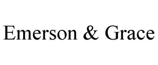 mark for EMERSON & GRACE, trademark #85850628