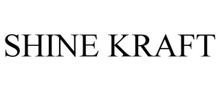 mark for SHINE KRAFT, trademark #85850735