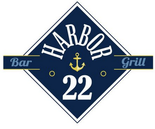 mark for HARBOR BAR GRILL 22, trademark #85850917