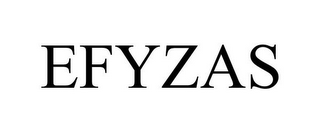 mark for EFYZAS, trademark #85850927