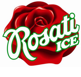 mark for ROSATI ICE, trademark #85850982