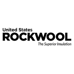 mark for UNITED STATES ROCKWOOL THE SUPERIOR INSULATION, trademark #85851047