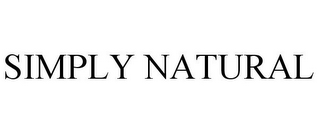 mark for SIMPLY NATURAL, trademark #85851084
