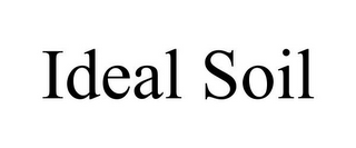 mark for IDEAL SOIL, trademark #85851318