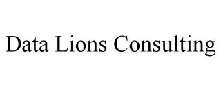 mark for DATA LIONS CONSULTING, trademark #85851372