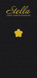 mark for STELLA LUXURY CIGARETTES FOR BEAUTIES, trademark #85851666