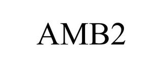 mark for AMB2, trademark #85852050