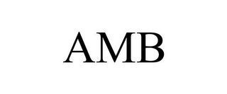 mark for AMB, trademark #85852054