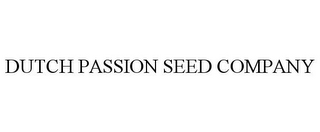 mark for DUTCH PASSION SEED COMPANY, trademark #85852216