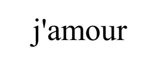 mark for J'AMOUR, trademark #85852228