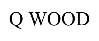 mark for Q WOOD, trademark #85852362