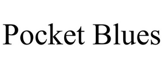 mark for POCKET BLUES, trademark #85852565