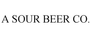 mark for A SOUR BEER CO., trademark #85852699