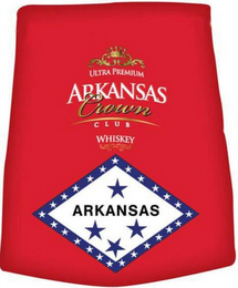 mark for ULTRA PREMIUM ARKANSAS CROWN CLUB WHISKEY, trademark #85852818