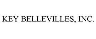 mark for KEY BELLEVILLES, INC., trademark #85852990