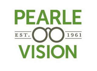 mark for EST. 1961 PEARLE VISION, trademark #85853326
