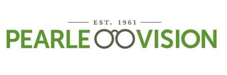 mark for EST.1961 PEARLE VISION, trademark #85853329