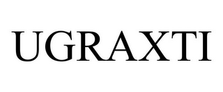 mark for UGRAXTI, trademark #85853351