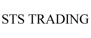 mark for STS TRADING, trademark #85853372