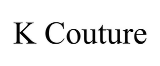 mark for K COUTURE, trademark #85853374