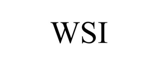 mark for WSI, trademark #85853520