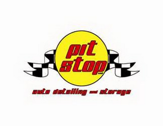 mark for PIT STOP LLC AUTO DETAILING AND STORAGE, trademark #85854047
