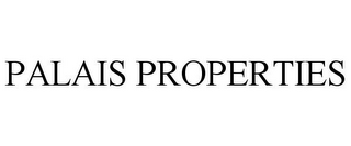 mark for PALAIS PROPERTIES, trademark #85854055