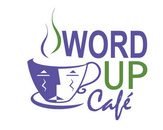 mark for WORD UP CAFÉ, trademark #85854188