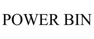 mark for POWER BIN, trademark #85854393