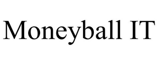 mark for MONEYBALL IT, trademark #85854431