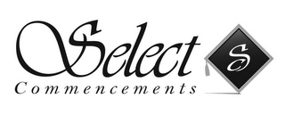 mark for SELECT COMMENCEMENTS S, trademark #85854438