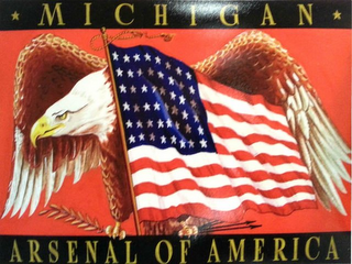mark for MICHIGAN ARSENAL OF AMERICA, trademark #85854440