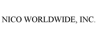 mark for NICO WORLDWIDE, INC., trademark #85854491