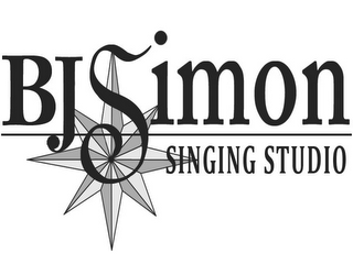 mark for BJ SIMON SINGING STUDIO, trademark #85854680